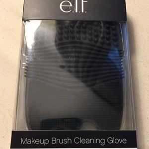 e.l.f. Makeup Brush Cleaning Gloves Silicon New